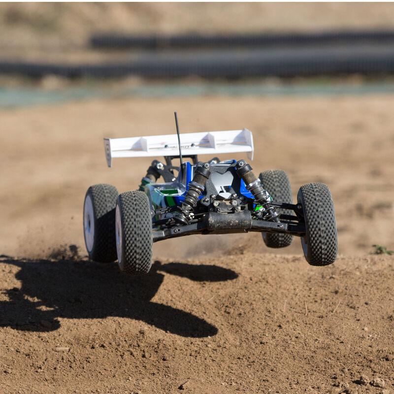 1/8 8IGHT-E 4WD Buggy Brushless RTR, Blue/Green
