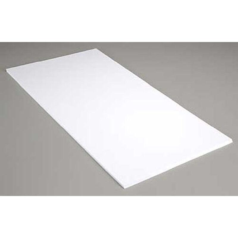 White Sheet .060 12 X 24 (4)