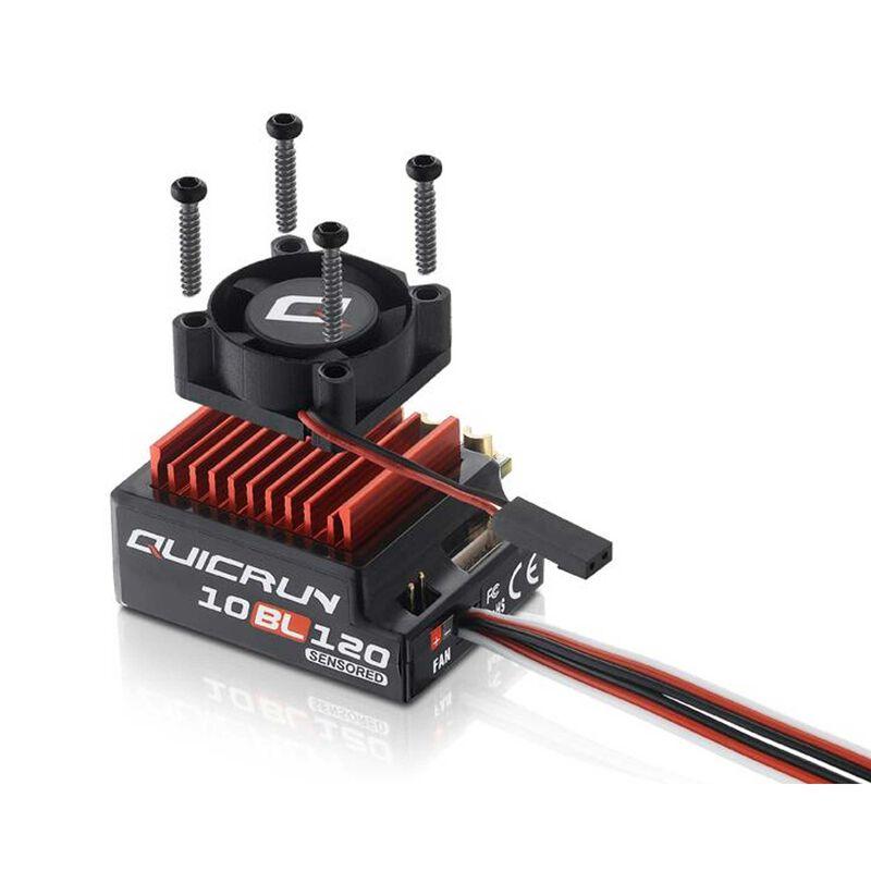 Quicrun Sensorless 120A ESC: 1/10