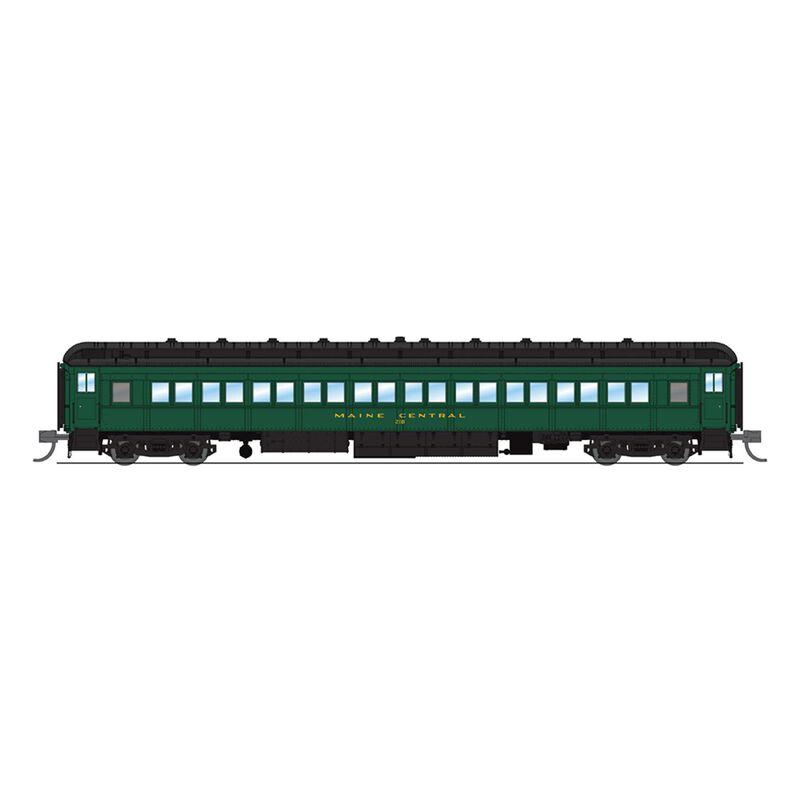 6537 MEC 80' Passenger,Green & Gold,Single Car,N