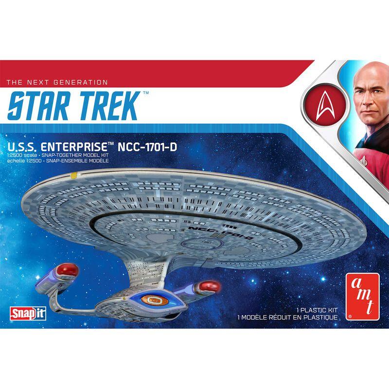 1/25000 Star Trek USS Enterprise-D Snap