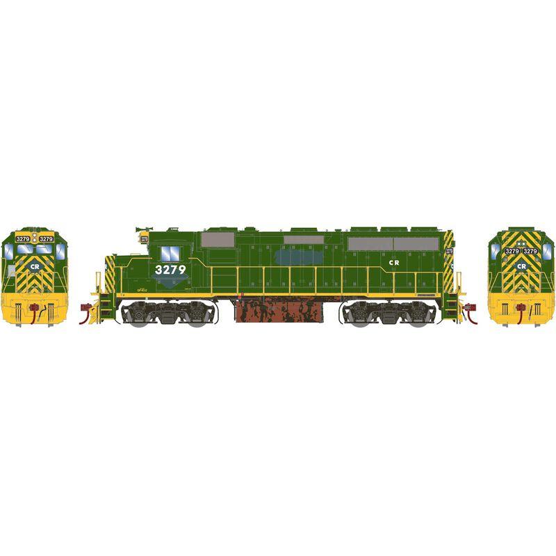 HO GP40-2 with DCC & Sound CR ex RDG #3279