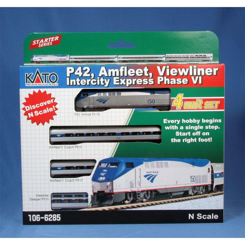 N P42 Amfleet Viewliner Set AMTK Intercity PhVI(4)