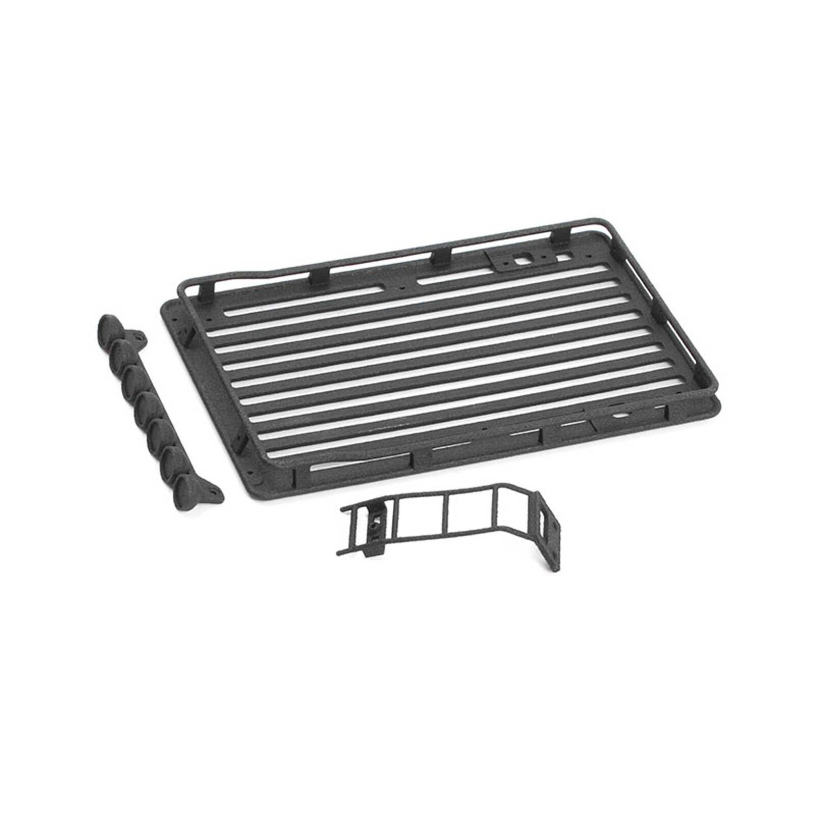 Roof Rack with Light Set & Ladder: Axial SCX24