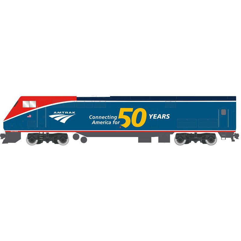 HO P42 with DCC & Sound, Amtrak/50th Phase VI #108