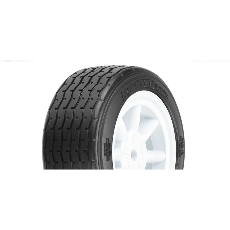VTA Front Tire 26mm Mounted White Wheel
