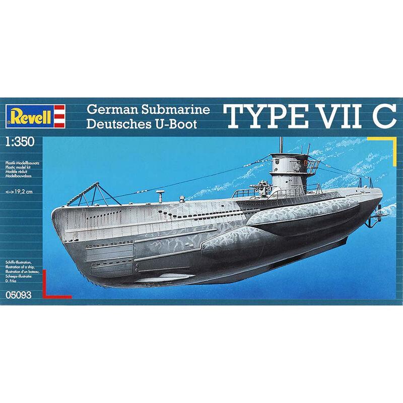 1/350 U-Boot Typ VIIC