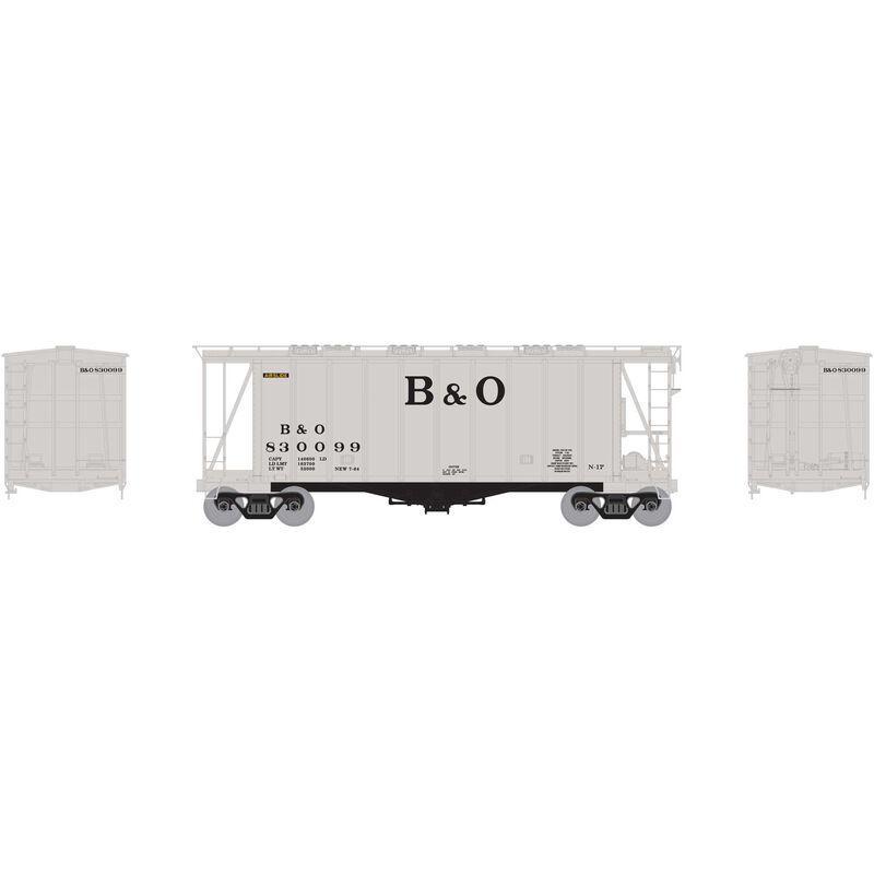 N GATC 2600 Airslide Hopper B&O #830099