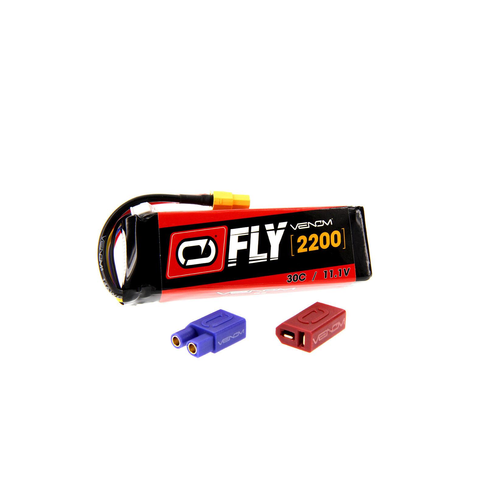 11.1V 2200mAh 3S 30C FLY LiPo Battery: UNI 2.0 Plug