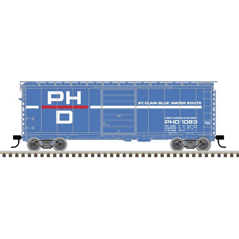N 40' PS-1 Box Car Port Huron & Detroit 1083