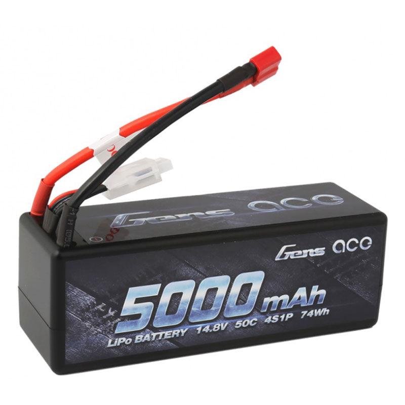 14.8V 5000 Capacity 4S Voltage 50C LiPo, Deans