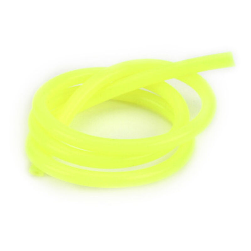 Silicone 2' Fuel Tubing, Yellow