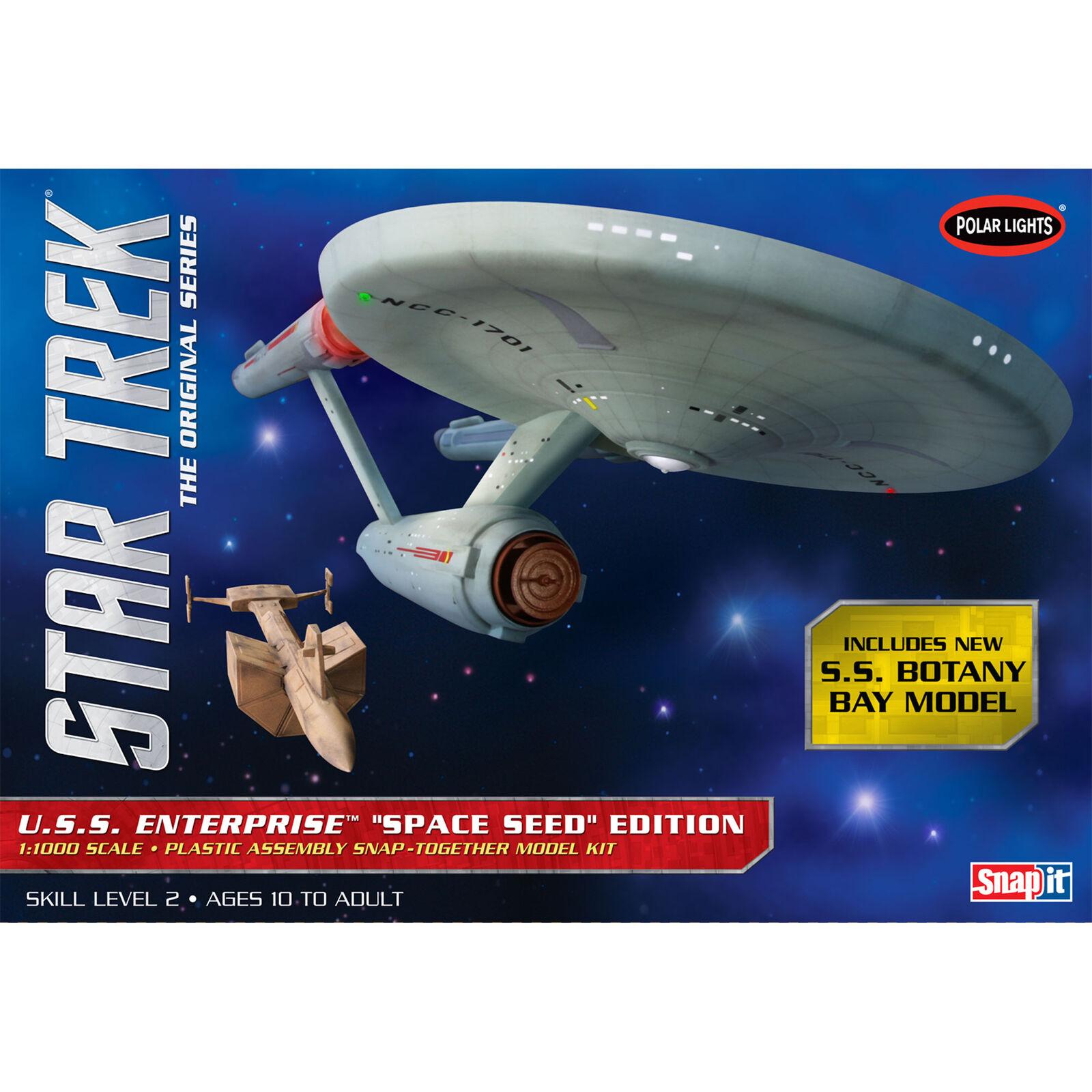 1/1000 Star Trek TOS USS Enterprise Space Seed Ed