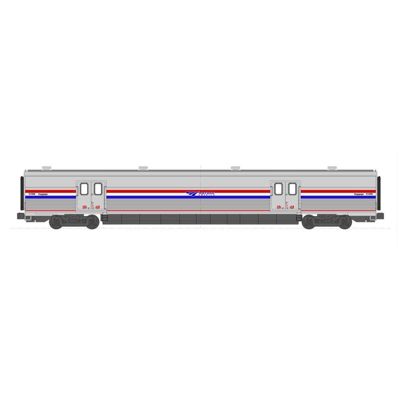 N Viewliner II Baggage AMTK PhIII Heritage #61058