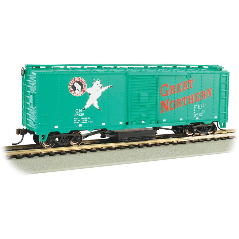 HO TRACK CLEANING CAR GREAT NORTHERN #27429