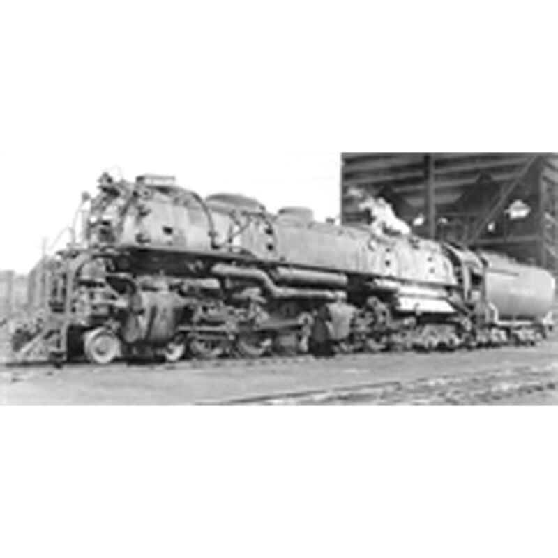 HO 4-6-6-4 w DCC & Paragon 3 UP CSA-2 Class #3830