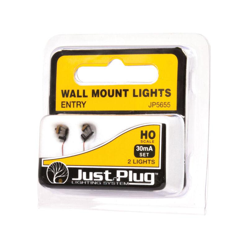 HO Wall Mount Lights, Entry (3)