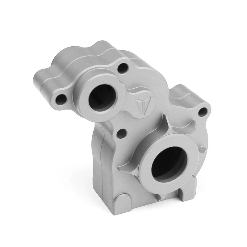 Aluminum Transmission Housing, Clear Anodized: SCX10