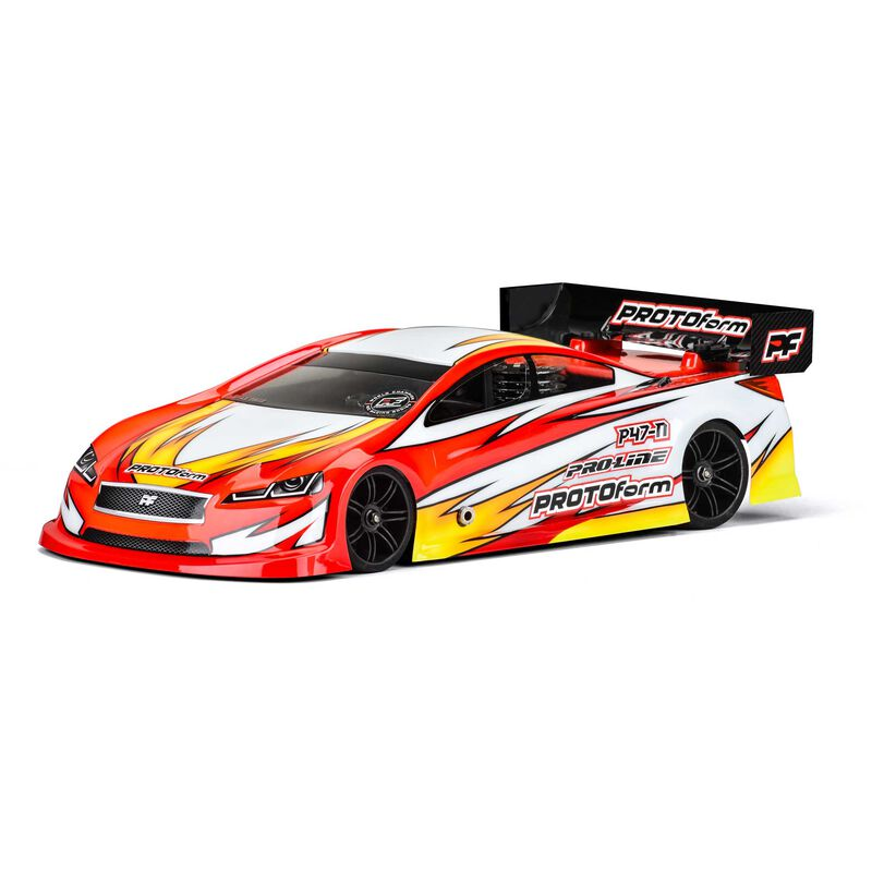 1/10 P47 Regular Weight Clear Body: 200mm Touring Cars