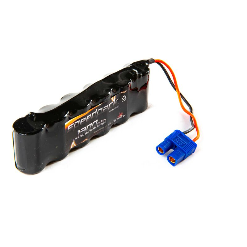 7.2V 1300mAh 6-Cell 2/3A Flat NiMH Battery: EC3