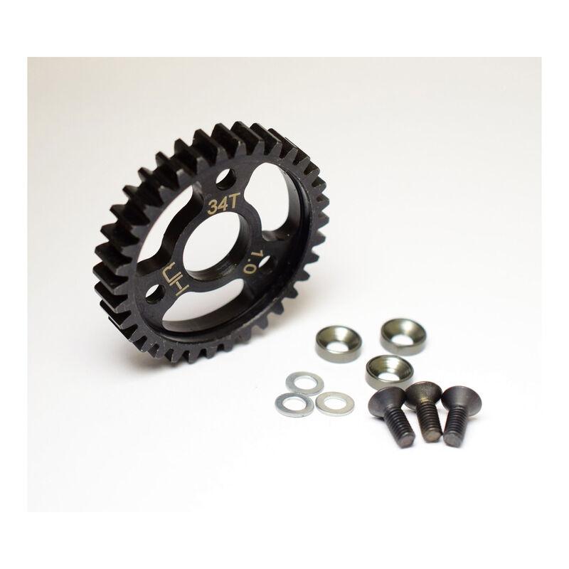 Steel Spur Gear 34T 1.0 Mod: Traxxas