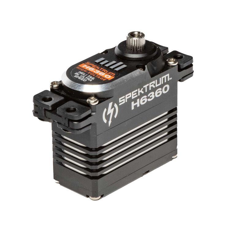 H6360 Standard Digital HV Brushless Mid Torque Ultra Speed Heli Tail Servo