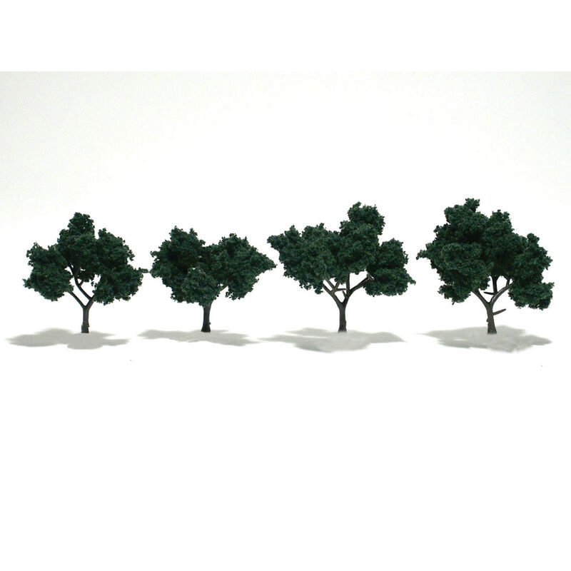 "Ready-Made Tree, Dark Green 2-3"" (4)"