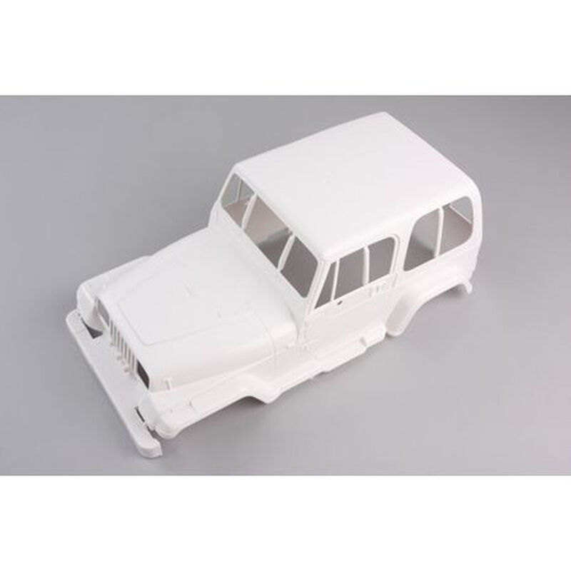 1/10 Jeep Clear Body, Unpainted: 58429/84071