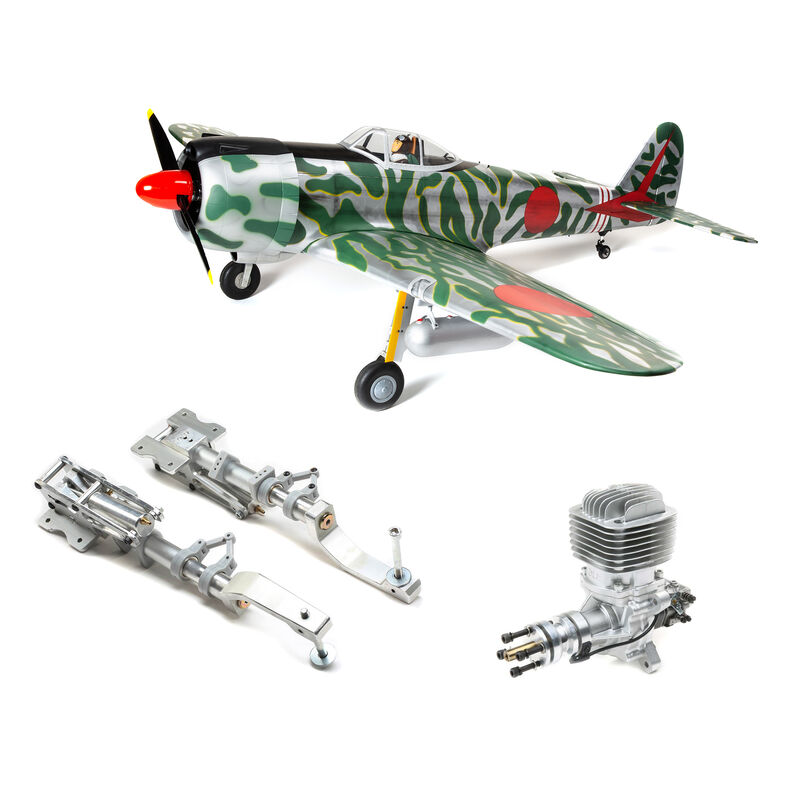 "Ki-43 Oscar 60cc ARF, 88"" with Main Retract Set & DLE 61cc Engine"