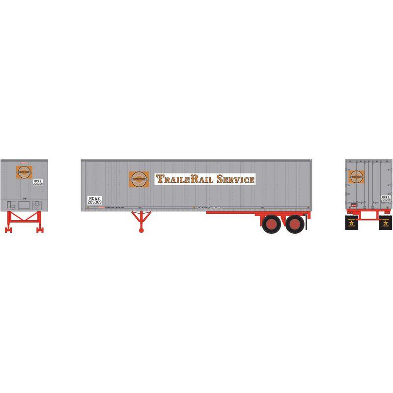 N 40' Fruehauf Z-Van Smooth Trailer CRR #205369