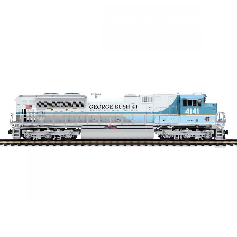 O SD70ACe with PS3 George H Bush #4141