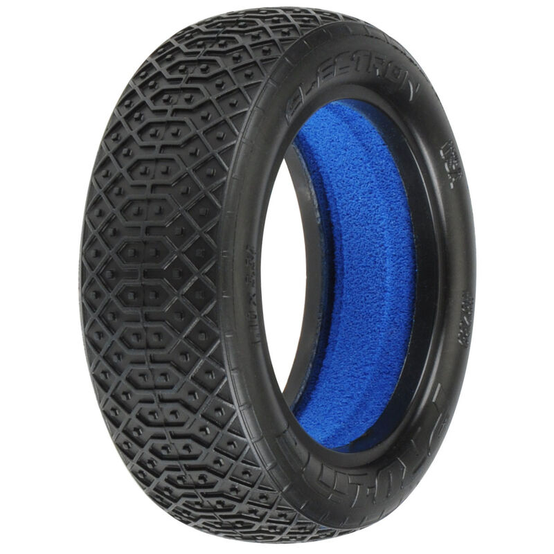 1/10 Front Electron 2.2 2WD MC Tires with Closed Cell Foam inserts: Off-Road Buggy (2)