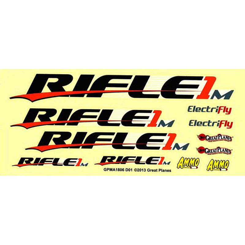 Decal Rifle 1M EP ARF