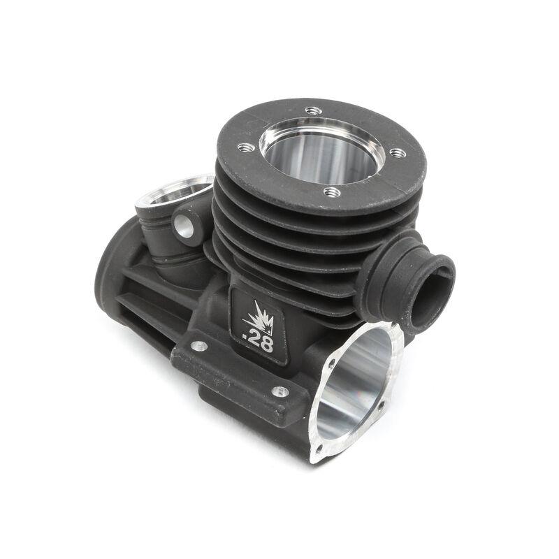 Engine Case: .28 8T RTR