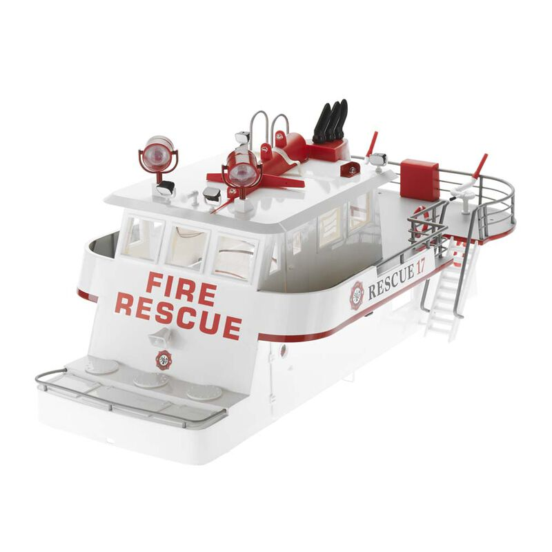 Cabin Super Structure with LED: Rescue 17