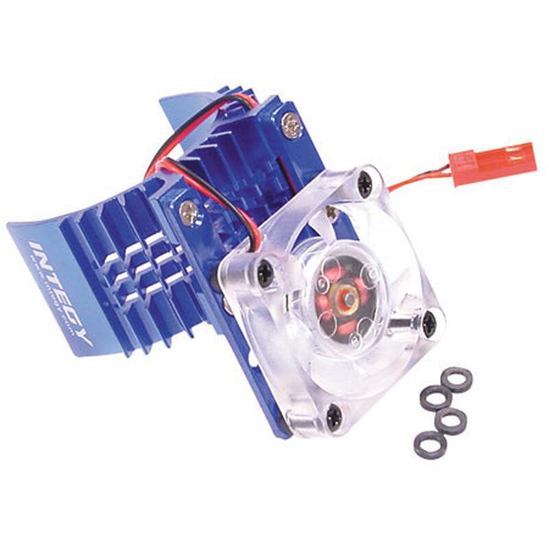 Motor Heatsink/Fan, Blue: ST, RU, BA, SLH