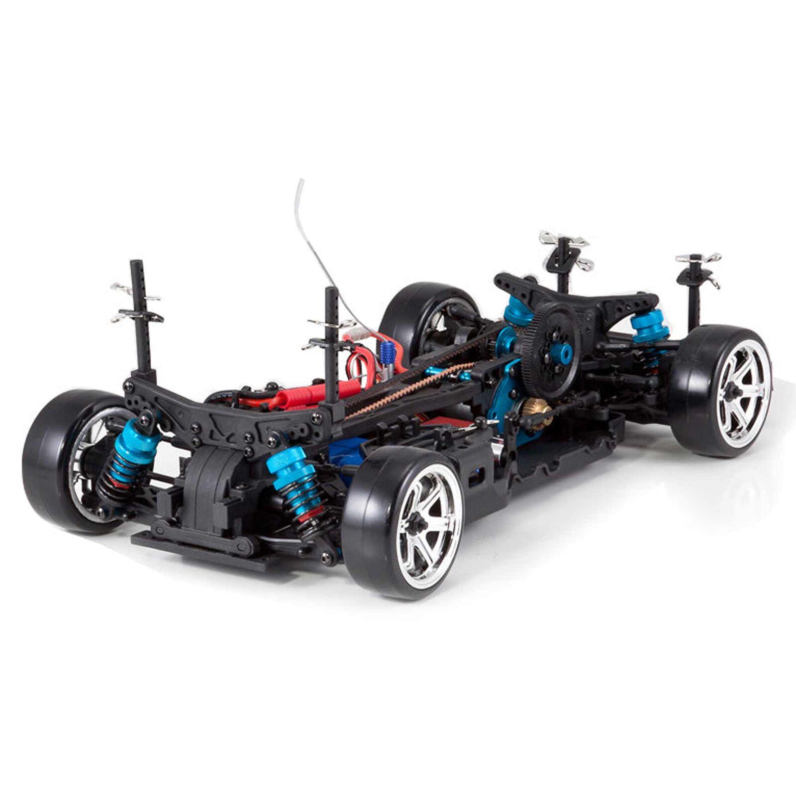 1/10 Thunder Drift 4WD Brushed RTR, Gunmetal