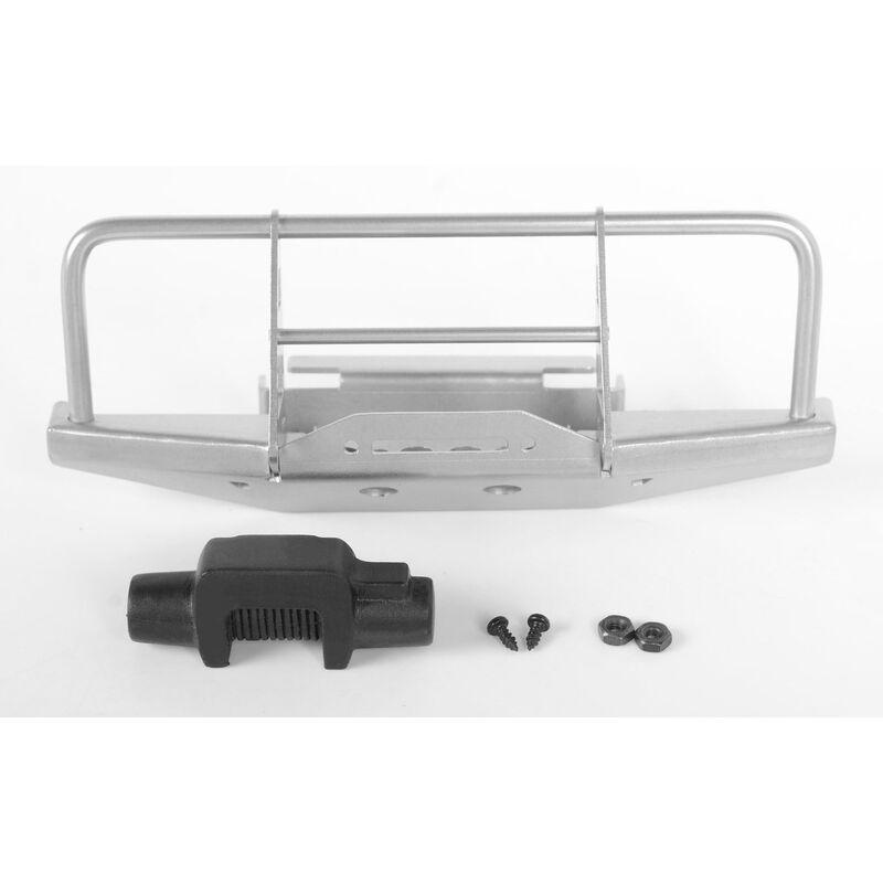 1/18 Front Winch Bumper with Winch, Silver: Gelande II BlackJack RTR