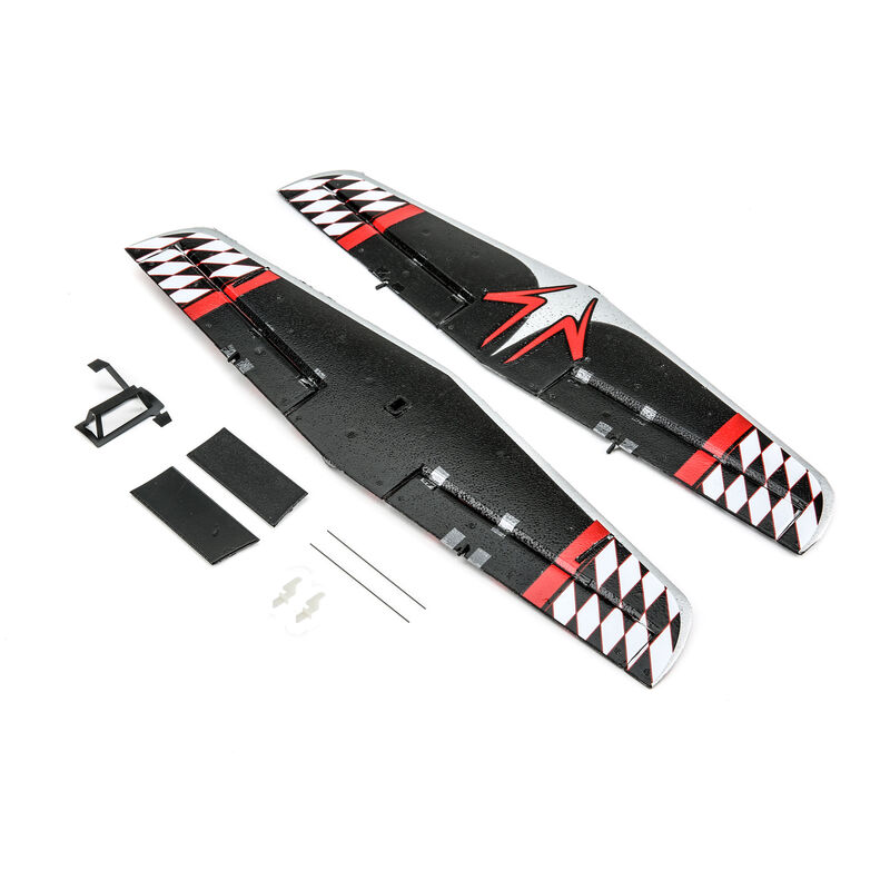Wing Set with Struts: UMX P3