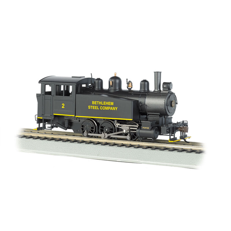 HO USRA 0-6-0 Porter w/DCC on Board, BSCX