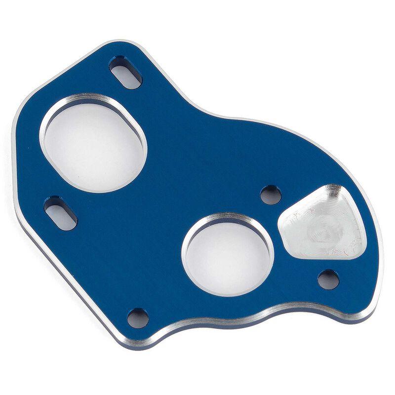 Laydown Motor Plate, Blue Aluminum: B6.1