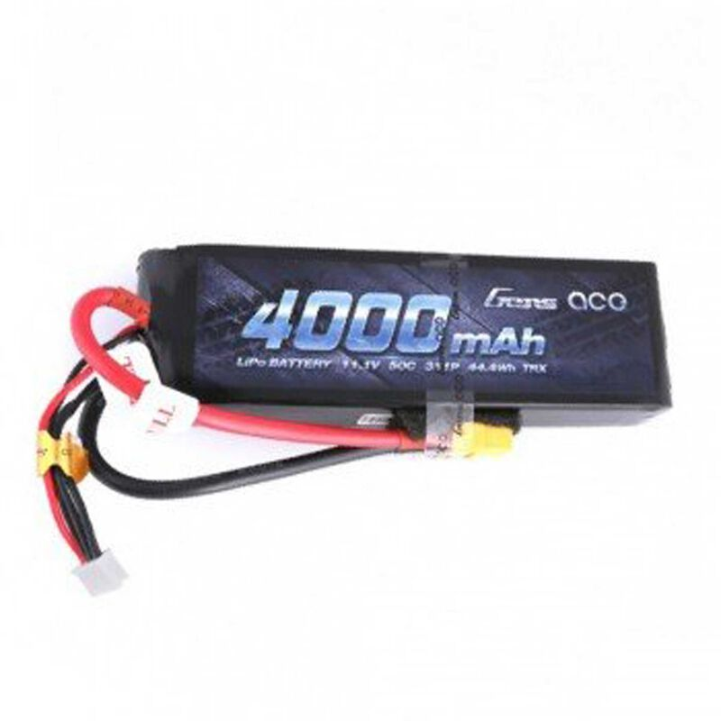 11.1V 4000 Capacity 3S Voltage 50C Rate XT60