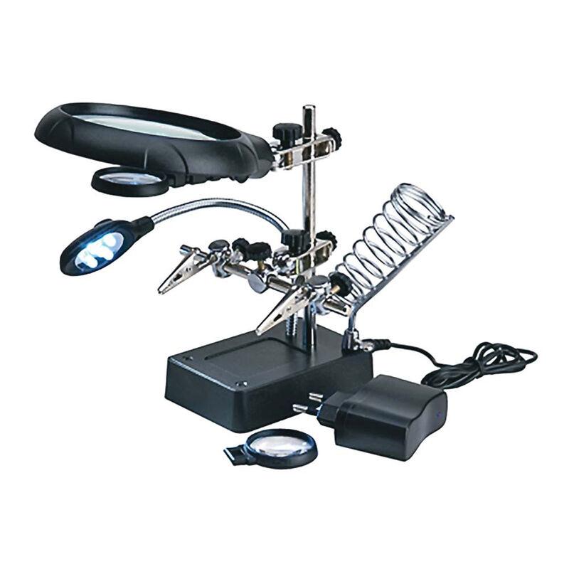 Magnifier w 5 LED Lights
