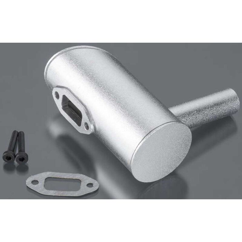 Muffler Right 2-Hole: DLE-40