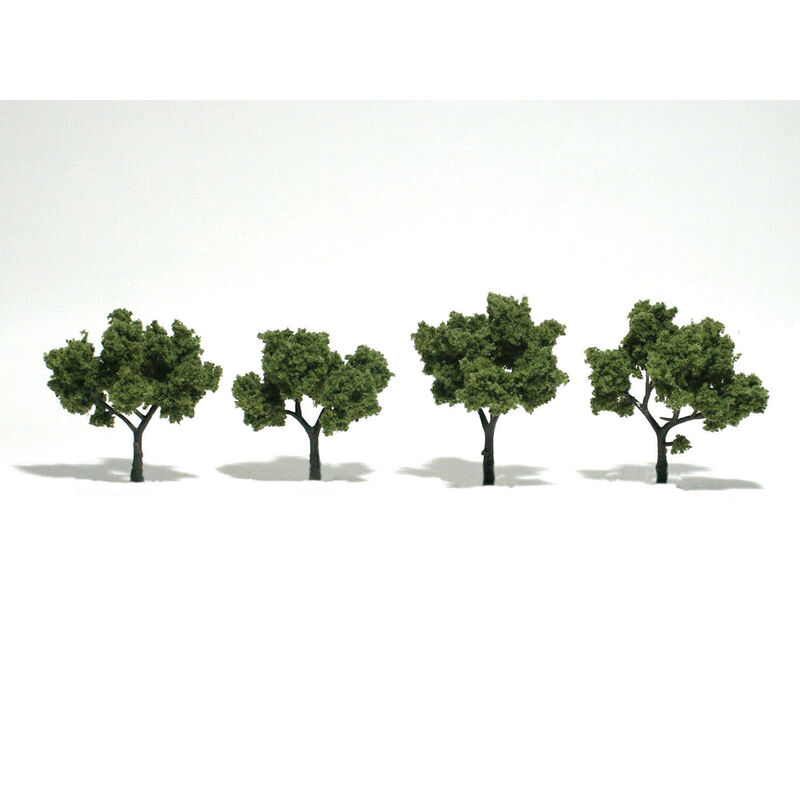 "Ready-Made Tree, Light Green 2-3"" (4)"