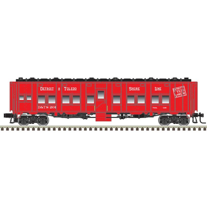 O Troop Series Car 3-Rail Detroit&Toledo Shoreline