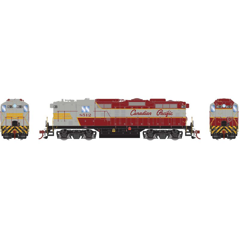 HO GP9 with DCC & Sound, CPR #8512