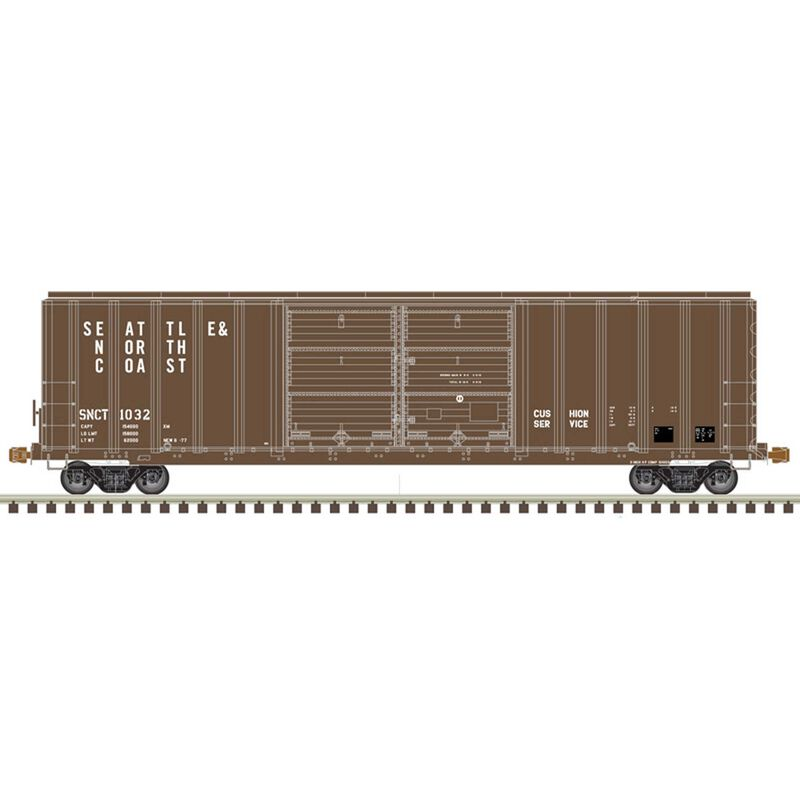 N FMC 5077 Double Door Box SNC #1059
