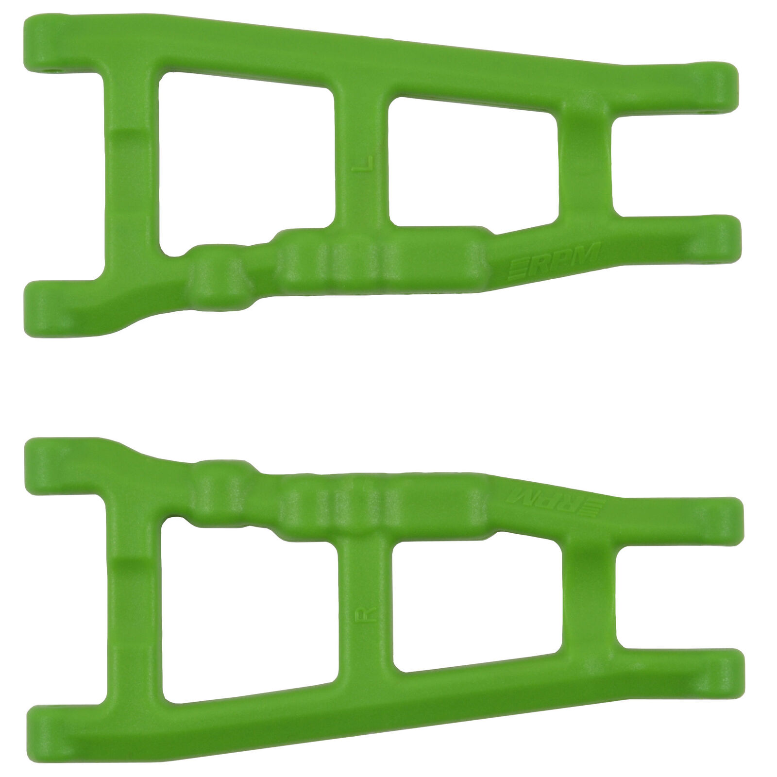 Front/Rear A-Arms, Green: Slash 4x4, Stampede 4x4