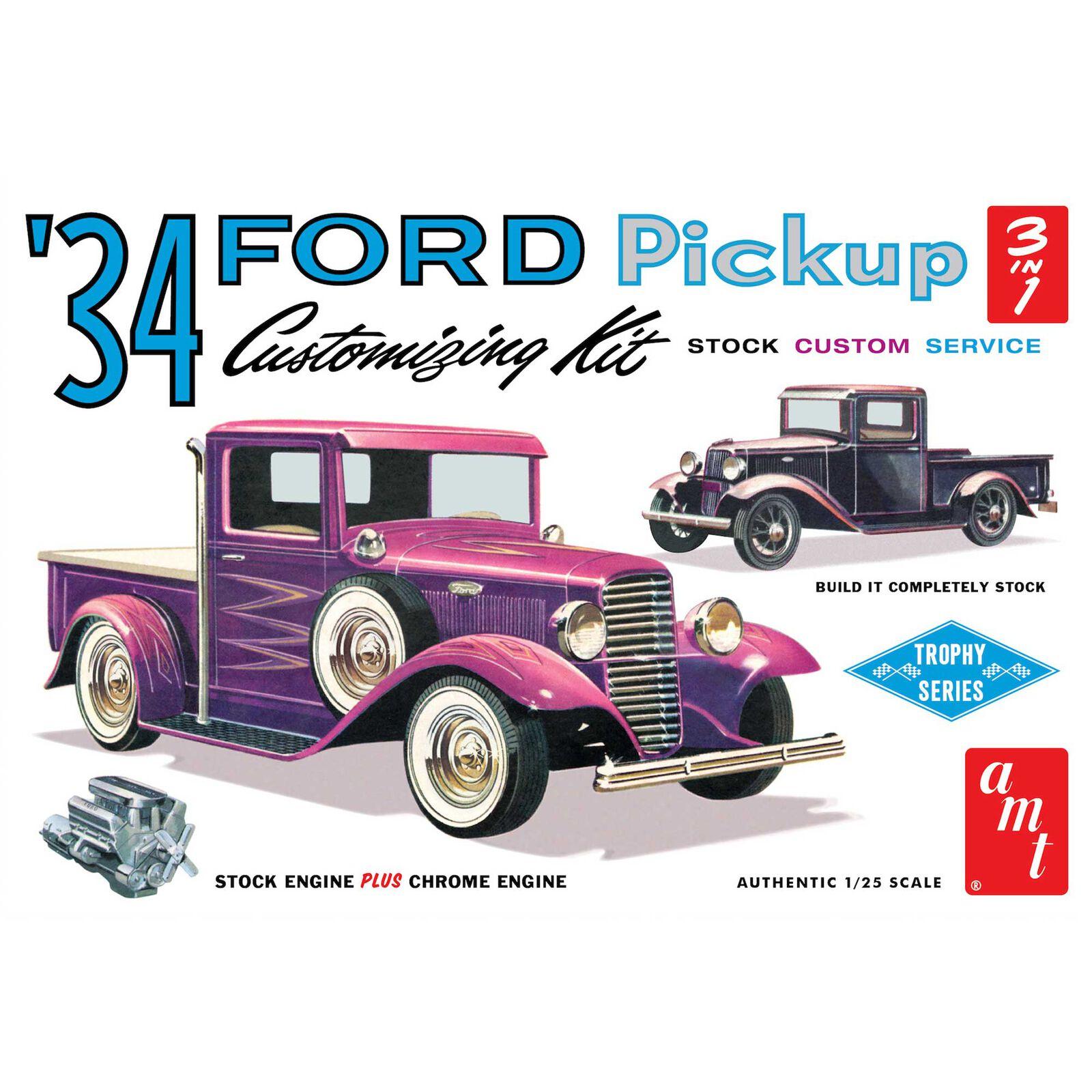 1/25 1934 Ford Pickup Model Kit